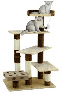 Go Pet Club IQ Busy-Box Cat Tree