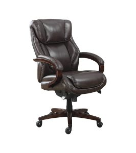 La Z Boy Bellamy Office Chair Executive Bonded Leather Chair