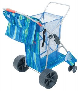 Rio Gear Deluxe Wonder Cart Wheeler Wide