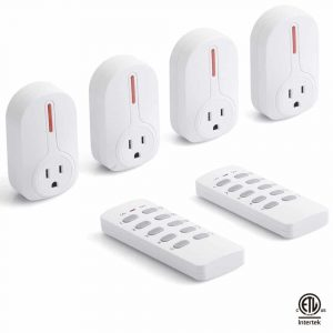 Wireless Remote Control Socket Outlet by BESTTEN