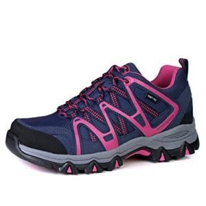 The First Outdoor Waterproof Breathable Women Hiking Shoes Sneaker