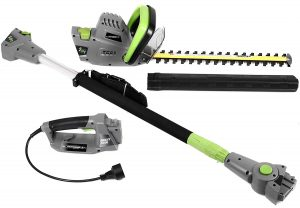 Earthwise Corded 2-in-1 CVPH43018 Pole Hedge Handheld:Trimmer Hedge Trimmer