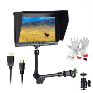Feelworld FW759 I.P.S Screen-Camera Field-Monitor with 7-inch Ultra-HD 1280×800