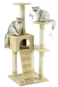 Go Pet Club Cat -Tree Furniture, Beige