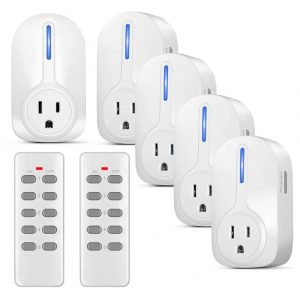 Wireless Outlet Switch with Remote Control by TNP Products
