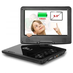 THZY 9.5 inch Screen Portable DVD Player