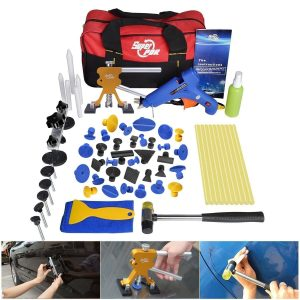 FLY5D 53Pcs Auto Body Paintless Dent Repair Kit