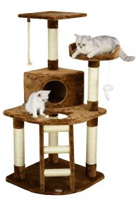 Go Pet Club Cat climber Tree, Brown, F49