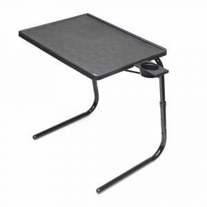 Table Mate II Tray Black TV Table Folding Tray