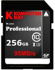 Komputerbay Professional 256 GB High Speed U3 up to 95 MB per Sec
