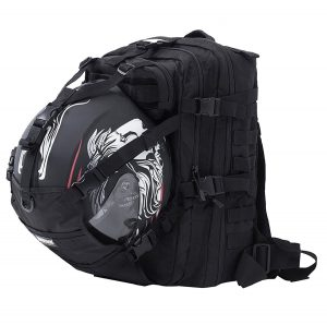 Seibertron Molle Motorcycle Helmet Holder Backpack