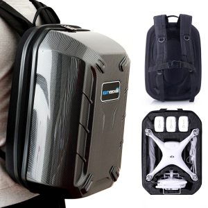 HOBBYTIGER Hard Case Backpack for Phantom 3 and 4