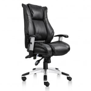 VO Furniture High-Back Leather Modifiable Desk Office Chair