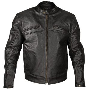 Xelement XSPR105 Men Leather Racing Jacket