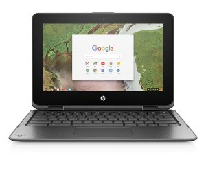 HP Chromebook 11 x360 11.6 inch 2-IN-1 TOUCHSCREEN Screen Laptops GRAY