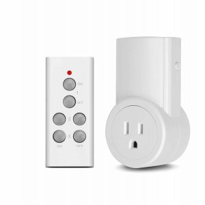 Wireless Remote Control Electrical Outlet by Magicfly
