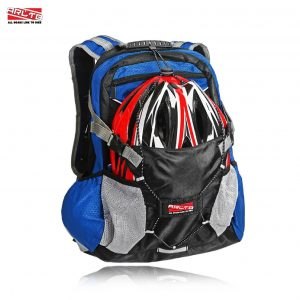 Arltb Bike Backpack with Motorcycle Helmet Bag