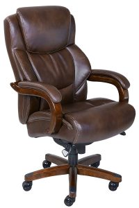 La Z Boy Delano Tall and Big Executive Leather Bonded Office Chair