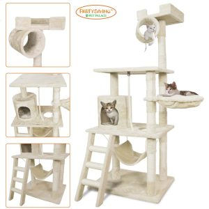 PARTYSAVING PET PALACE Kitten Activity Tower Condo