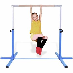 Costzon Junior Stainless Steel Gymnastic Horizontal Bar
