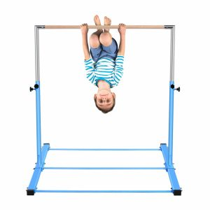 Safly Zone Gymnastics Expandable Junior Training Bar for Kids