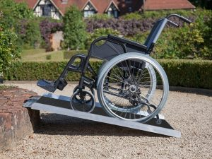 Clevr 3' Non-Skid Aluminum Wheelchair Loading Ramp