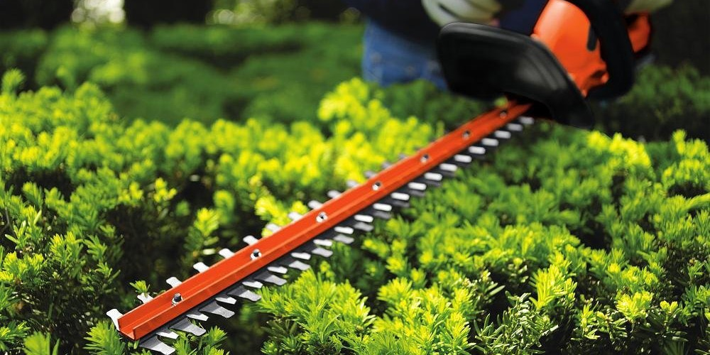 Small hedge trimmer oversized bath mat