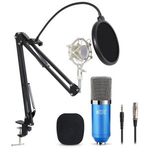 TONOR Professional Condenser Studio Microphone with 3.5mm XLR