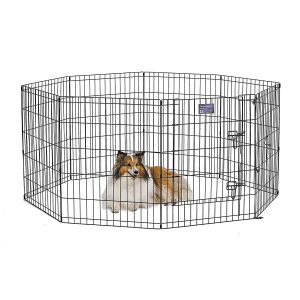 MidWest Foldable Metal Exercise Pet:Pen Playpen