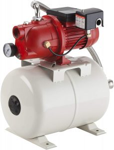 Red Lion 97080503 Shallow Well Jet Pump with a Tank
