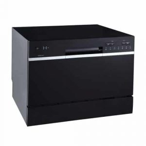 EdgeStar DWP62BL Portable Black Countertop Dishwasher