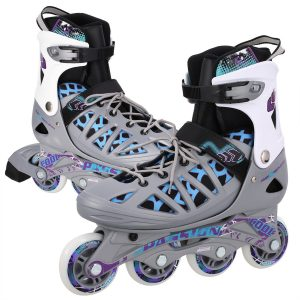 WeSkate Adult Rollerblades Adjustable Inline Skates