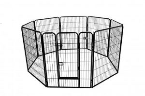BestPet Heavy Duty 40-Inch Pet Playpen Dog Exercise