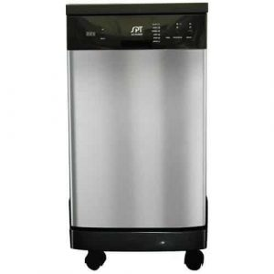 SPT SD-9241SS Energy Star 18-Inch Portable Dishwasher