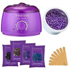 Yeelen Hair Removal Hot Wax Warmer Waxing Kit