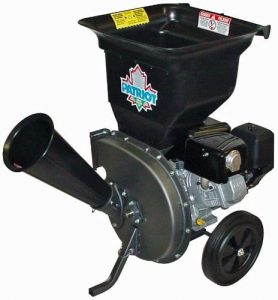 Patriot Products CSV-3100B Gas-Powered 10 HP Wood Chipper