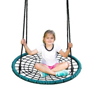Play Platoon Spider Web Tree Swing