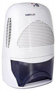 Ivation IVADM35 Mid-Size Powerful Thermo Electric Dehumidifier