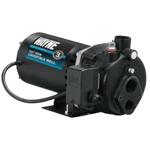 WAYNE CWS75 3:4 HP Convertible Well Jet Pump