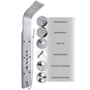AKDY JX-9821 AZ-9821 65-Inch Shower System Shower Panel