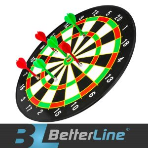 BetterLine Magnetic Dart Board Set