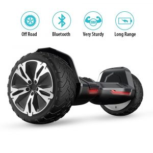 Gyroor Warrior All Terrain 8.5 inch OFF ROAD Hoverboard scooter 2018