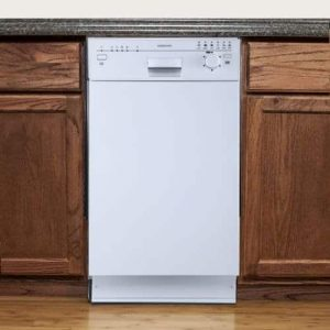 EdgeStar BIDW1801W 18inches White Built-In Dishwasher