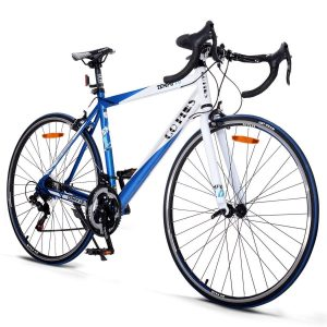 Goplus Road Bike 700C Aluminum Shimano 21 Racing Bicycle
