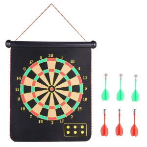 Rabosky Roll-up Magnetic Dart Board Set