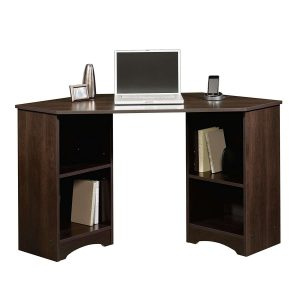 Sauder Beginnings Cherry Corner Desk