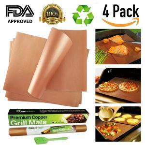 AltoFresh Large Copper Grill & Bake Mats