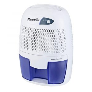 KEDSUM Electric Small- Dehumidifier with, 1200 Cubic Feet, 17.6 Oz Capacity