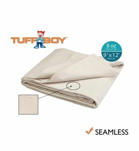 TuffBoy Cotton Canvas Drop Cloth
