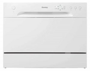 (New Model) Danby White DDW621WDB Dishwasher